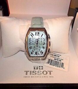Tissot Porto Heritage Chronograph - Blue Mother Of Pearl Dial