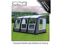 camptech starline 390 inflatable air awning brand new unused but has a small repair read ad please