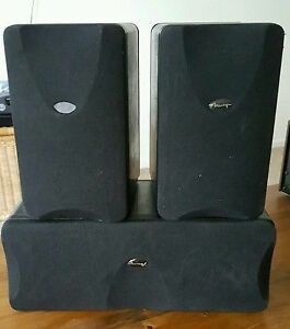 HOME THEATRE SURROUND SPEAKERS AND SUB - MIRAGE