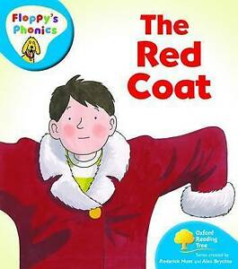 NEW -  the RED COAT (Floppy's Phonics) LEVEL 3 (OXFORD READING TREE )