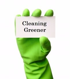 Go Green cleaning services get 10% off your frist clean
