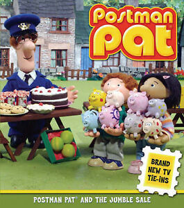 Postman Pat and the Jumble Sale, Ritchie, Alison, Very Good Book