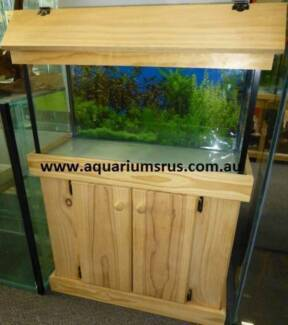 Local Manufacturer!  30 inch fish tank with cabinet and hood
