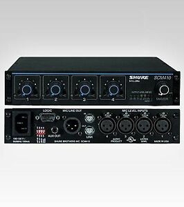 Shure SCM 410 Automatic 4 Channel Mixer