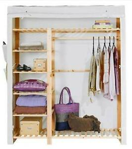 Wooden Canvas Wardrobes