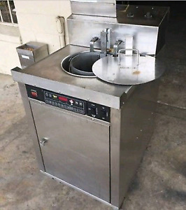 Giles Chester Fried, Natural Gas Fryer Cooker Cooking Chicken Fr