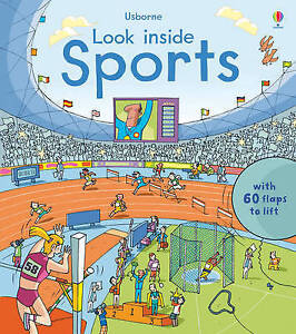 NEW Usborne Look Inside Sports (Lift The Flap)
