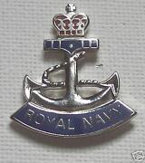 Enamel Royal Navy Badge