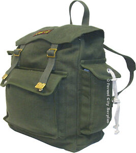 MILITARY STYLE RUCKSACKS - Rugged quality. Made to Last for Years! - Great for school or travel