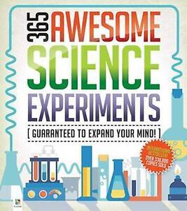 NEW 365 Awesome Science Experiments by Hinkler