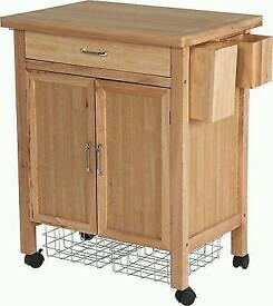 HOH tollerton wooden kitchen trolley