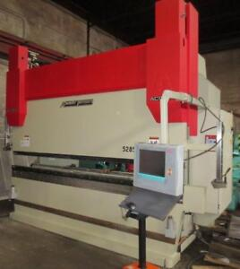285 Ton x 12', Accurpress, 2011, CNC Hydraulic Press Brake