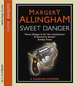 Margery Allingham- Sweet Danger(A Campion Mystery)  (3 CD-Audio, 2007)