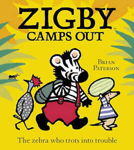 Very Good, Zigby Camps Out, Paterson, Brian, Book