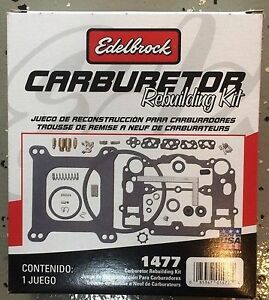 Edelbrock Carburetor Kit.