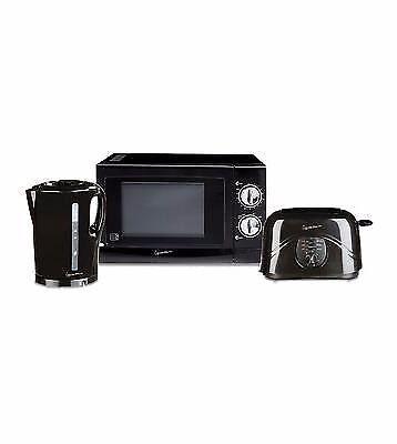 Signature microwave, kettle & toaster