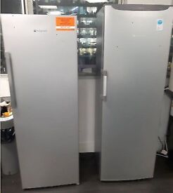 HOTPOINT Free Standing Fridge each only £100.00