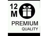 12 month gift service Openbox/SkYBox v9s,V8s,V6s,F5s,V5s,F3s zgemma