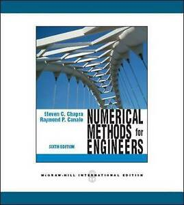 Numerical Methods for Engineers (Int'l Ed), Chapra, Steven C., New Book