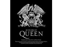 40 Years of Queen the first authorized band book.