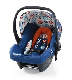 NEW UNOPENED Cosatto 0+ Toodle Pip Car Seat RRP £135