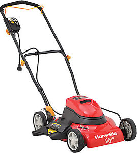 Homelite 18 inch Electric Lawn Mower - excellent condition