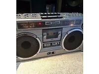 vintage sharp gf -9191 radio