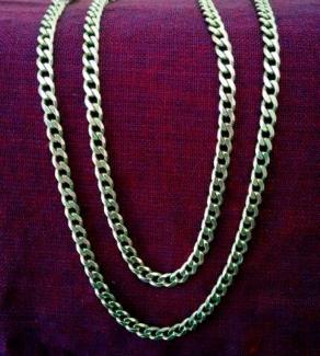 NEW Silver Chain 70cm