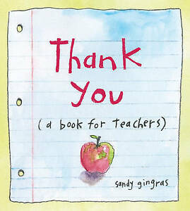 Thank You: (a book for teachers)-ExLibrary