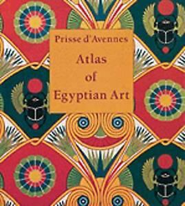Prisse D`Avennes E.-Atlas Of Egyptian Art  BOOK NEW