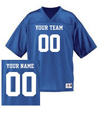 Why wear some NFL jersey with some other player's name on it? Strut your stuff!