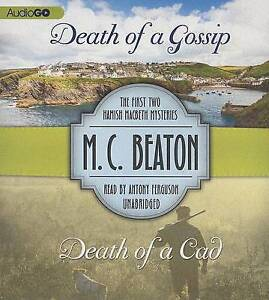 NEW Death of a Gossip & Death of a Cad: The First Two Hamish Macbeth Mysteries