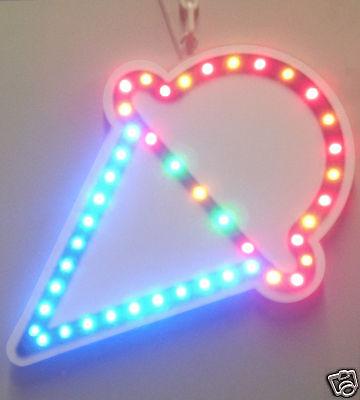 New Ice Cream Led Neon Sign