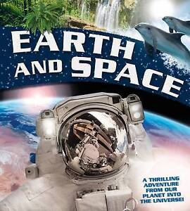 Earth and Space: A thrilling adventure from our planet into the Universe, Llewel