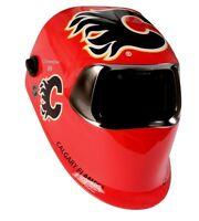 SpeedGlas 100 welding helmet. Calgary Flames.BNIB