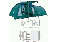 Tent -Coleman Dome BI space 400 as new