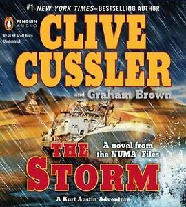 THE STORM unabridged audio book on CD by CLIVE CUSSLER ...