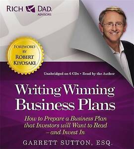 Rich Dad's Advisors: Writing Winning Business Plans: How to Prepare a Business P