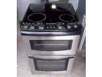 TRICITY BENDIX STAINLESS STEEL FREE STANDING 60cm ELECTRIC COOKER FOR SALE, EXCELLENT CONDITION