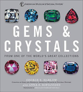 Gems & Crystals Book by Harlow George E & Sofianides Anna S