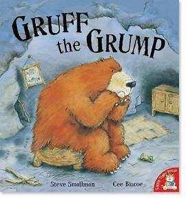 GRUFF the GRUMP Childrens Reading Picture Story Book LARGE Little Tiger Press
