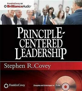 NEW Principle-Centered Leadership by Stephen R. Covey