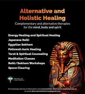 Alternative Holistic Healing & Tarot