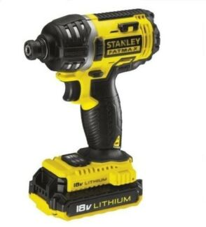 NEW STANLEY FATMAX 18V 2.0Ah Compact Impact Driver DY NSW