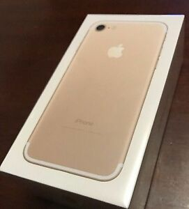 Apple iPhone 7 - GOLD - Brand NEW IN Sealed Box -