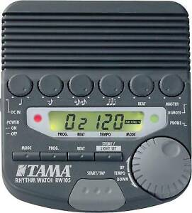 tama rythm watch rw 105 metranome