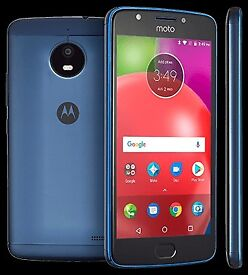 """mobile phone, moto E4, on tesco, 1 week old, mint, 5""""hd android smartphone"""