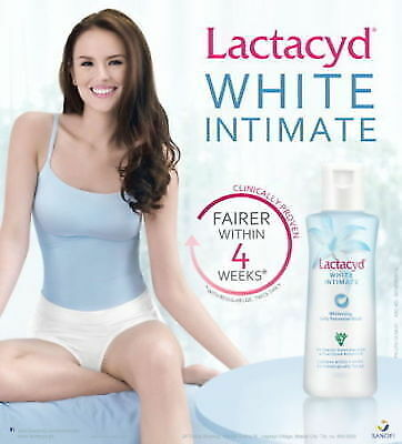 LACTACYD WHITE INTIMATE WHITENING DAILY FEMININE WASH HYPOALLERGENIC 60 ml. for sale  Shipping to India
