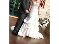 Kenneth Winston Designer wedding dress size 12 / 14