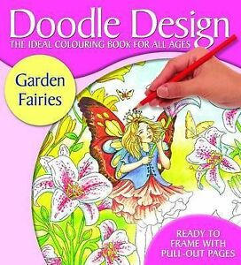 Very Good, Doodle Designs Garden Fairies - FSC, Holland Publishing PLC, Book